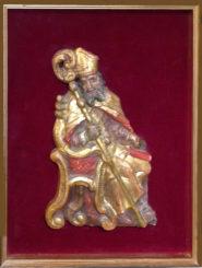 """Scultura in legno policromo risalente al XVIII° sec. """" Patriarca """""""